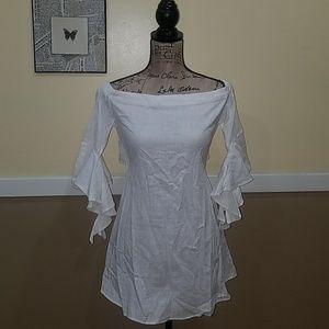 White beautiful Summer dress